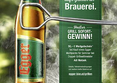 Egger Grill-Promotion
