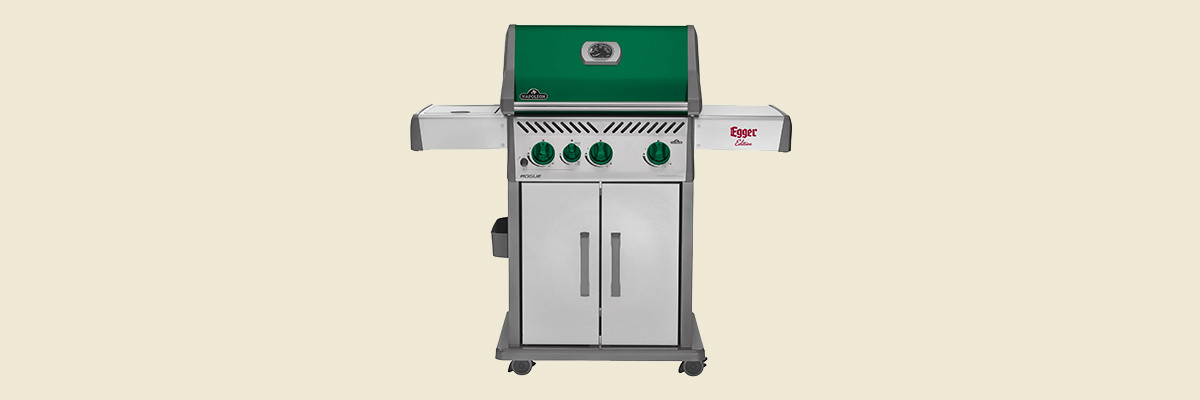 "Marketing-Kooperation: Privatbrauerei Egger verlost NAPOLEON Gas-Grills in limitierter ""Egger-Edition"""